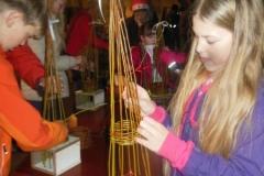 Workshop kerstboompjes maken