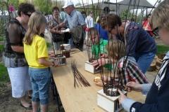 Workshop kinderen Lentefair Zandroos Afferden